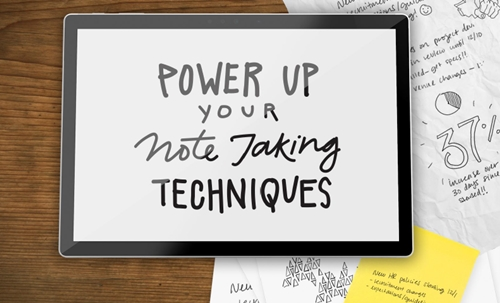 Modern Note Taking Techniques