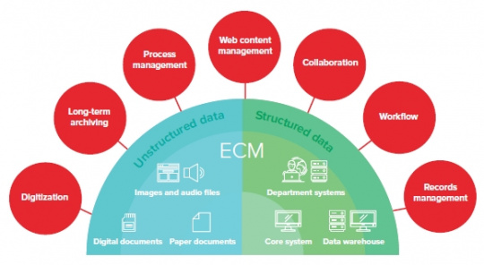 How to implement the effective enterprise content management system?