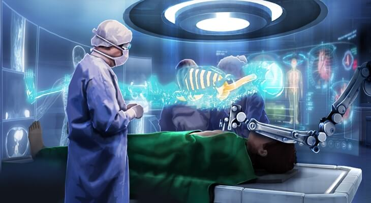 Augmented Reality Apps for Healthcare
