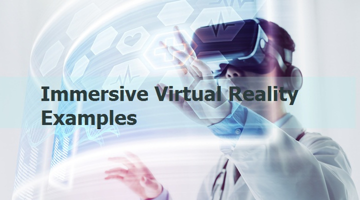 Examples of Immersive Virtual Reality