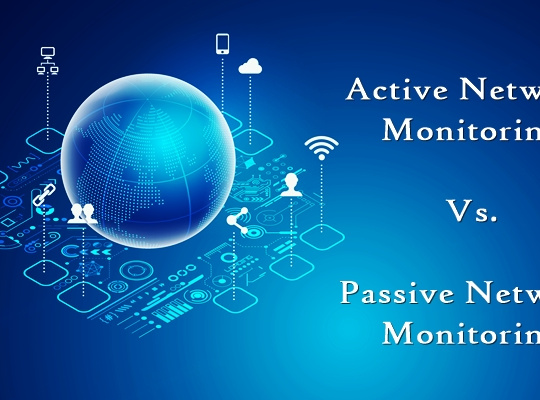 active vs. passive network monitoring